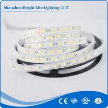 5050-Waterproof strip led light IP66 white 60LED/meter led flexible strip 12v UL certificate