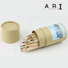 Promotion natural wooden pencil case
