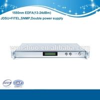 High quality 13-26 output power and JDSU laser DWDM EDFA with OEM service