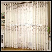 100% Polyester Printed custom curtain/ 2014 the latest window curtain