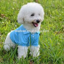 wholesale fashion pet dog polo t-shirt wholesale plain dog t-shirts