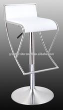 china supplier modern bar stool/chair modern luxury bar stools leather swivel bar stool