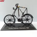 de metal en miniatura modelo de bicicleta de la bicicleta de decoración colección