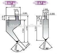 Amada/adira/Trumph/Yawei/Yangli press brake moulds