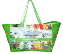 customized non woven pp lamination bag /pp woven ice bag /pp woven hand bag