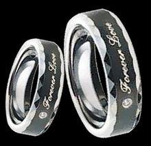 2014 fashion wholesale women's koa wood tungsten rings