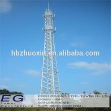 Hot-Dip Galvanized cellular telecommunication antenna pole