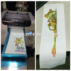 3D t shirt printer factory supplies/ cotton t shirt printer factory price supply
