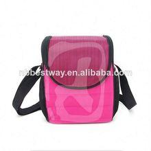 Cooler bag with flower marks