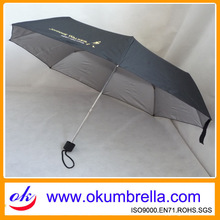3 folding spf umbrella with UV protection(Sun Protect Factor)