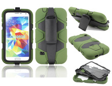 Defender rubber skin cover for Samsung Galaxy S5 with belt clip
