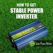 Pure sine wave inverter/home inverter high power 1000 watt led panel