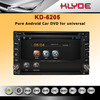 6.2inch universal pure android 4.2 car dvd player with GPS navi
