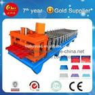 produce roof tile forming machine,glazed tile making machine,steel sheet roll former