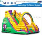(HD-9602)inflatable moonwalk / inflatable mini combo jumper/ inflatable slide bouncer combo