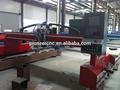 Máquina de corte CNC con plasma y llama