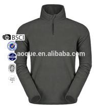 Hot sale Polar fleece pullover 1/4 half zip jacket Customized own logo sportswear garment OEM style our own ropa factory Sportex