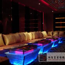 led interactive bar table, ktv bar table with led lights
