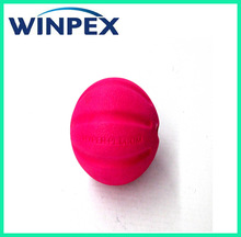 Embossed dog chew foam ball dog toy