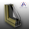Brilliance aluminum extrusion profile for glass door and window frame