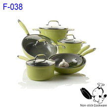 forged aluminum cookware set stone cookware cook stone