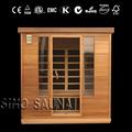 persona 4 ultra bajo emf de infrarrojos calentador de la sauna piezas con rayos infrarrojos