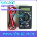 /ac dc voltmètre ampèremètre ohm meter électriques, testeur multimètre numérique professionnel dt830b