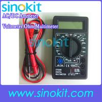 AC/DC Ammeter Voltmeter Ohm Electrical Tester Meter Professional Digital Multimeter DT830B