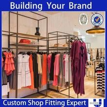 Custom made Furniture for clothing retail store cloth display racks