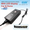 Automatic 100W universal car and home usb power charger adapters