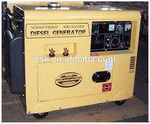 portable silent type diesel welding generator and stick arc welding machine ED5GF-LDEW