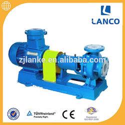 Flourine Lining Acid and Alkali Transfer Pump With 380V/415V 50Hz Electric Motor