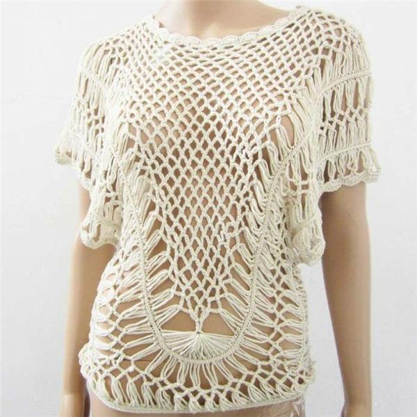 Sueteres tejidos de moda EN GANCHO - Imagui