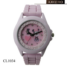 Lovely item wholesale hello kity wrist watch for gift