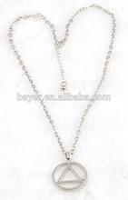 stainless steel custom cheap hip hop bike shape chain pendants necklace jewelry