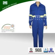 wholesale 100% cotton flame resistant waterproof oil field work garment