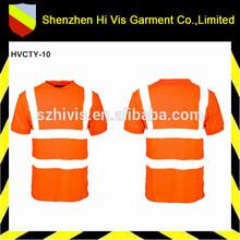 hi vis reflective safety tee shirts