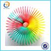 Plastic Rainbow Slinky Spring Toy For Kid