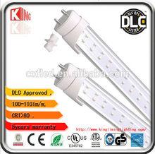 2014 ETL and DLC Approved G13 Garage T8 LED Tube 4ft 18w 100-277V AC