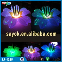 Festival inflatable grounding flower for decoration made in china