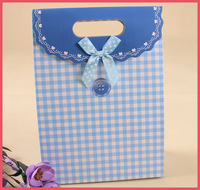 Fashion lovely kids decorate gift paper bag wholesale