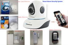 Vstarcam Support PIR,Smoke Detector,Gas Leak Detector Window/Door Sensor T7838WIP-AR Alarm IP Camera Wifi Home Alarm System