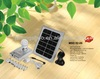 portable multifunctional led solar home lighting system with phone charger with CE certification