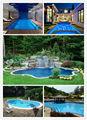 acima do solo piscina inflável