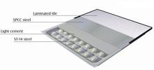 laminate panel raised access floor FS1000 (600mm*600mm*35mm)