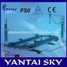 Fs0 hidráulico torre / garaje / machine shop tools usado / auto cuerpo de la máquina marco