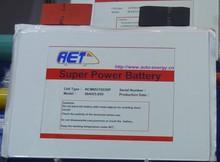 rechargeable li-polymer battery 50Ah 3.7V for Solar energy storage