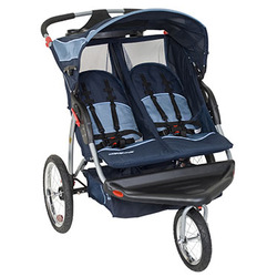 3 Wheels Double baby jogger stroller en1888 - Vision baby stroller for twins