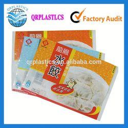 frozen bag packing rice dumplings