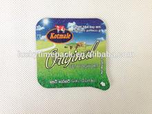 per uso alimentare tazza di yogurt foglio di alluminio coperchio produzione